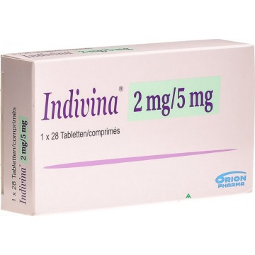 Индивина (Indivina) 2 мг + 5 мг (3 х 28 табл)