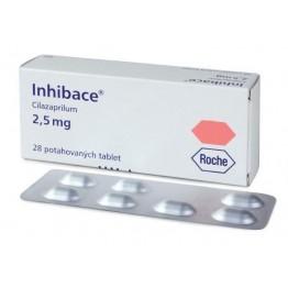 Инхибейс (цилазаприл) 2.5 мг 28 табл