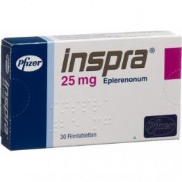 Инспра 25мг, 30 таблеток