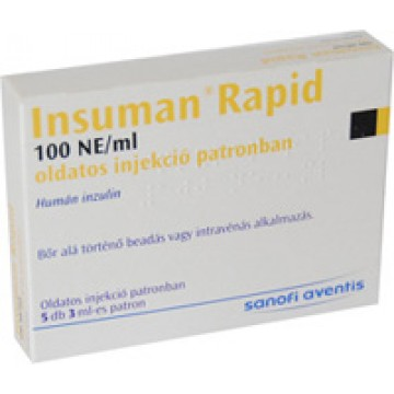 Инсулин инсуман рапид