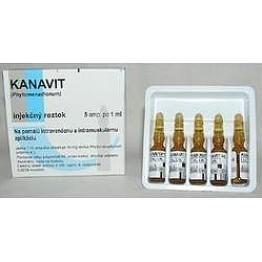 Канавит р-р д/ин.10 мг/мл 1мл 5 амп.