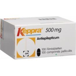 Кеппра 500 мг, 100 таблеток