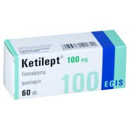 Кетилепт 100мг, 60 таблеток