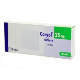 Кориол 25 мг (30 шт)