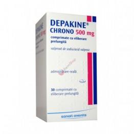Депакин Хроно 500 мг (30 шт)