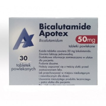 Бикалутамид Апотекс 50мг (30шт)