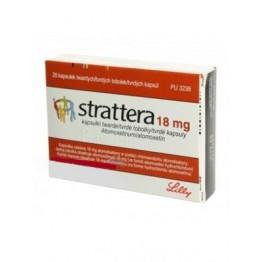 Страттера (Strattera) 18 мг, 28 капсул