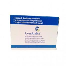 Симбалта (Cymbalta) 30 мг, 7 капсул