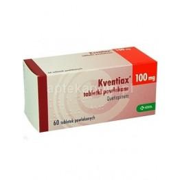 Квентиакс (кветиапин) 100 мг (60 шт)