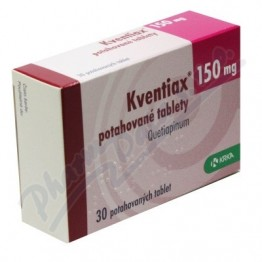 Квентиакс (кветиапин) 150 мг (30 шт)