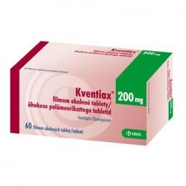 Квентиакс (кветиапин) 200 мг (60 шт)