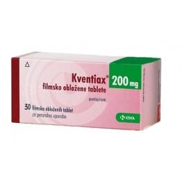 Квентиакс (кветиапин) 200 мг (30 шт)
