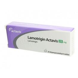 Ламотригин Актавис 25 мг (30табл)