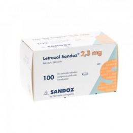 Летрозол Sandoz 2.5мг, (100 шт)