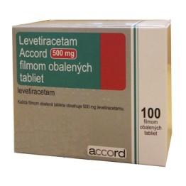 Леветирацетам 500мг (100шт)