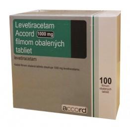 Леветирацетам 1000мг (100табл)