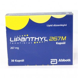 Липантил (Lipanthyl) 267 M капсулы 267 мг (30 шт)