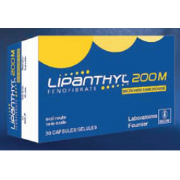 Липантил (Lipanthyl) 200 M капсулы 200 мг (30 шт)