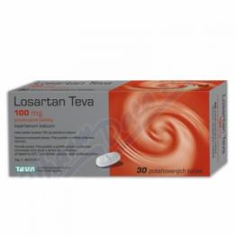 Лозартан (Teva) 100 мг (30 шт)