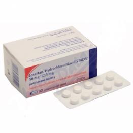 Лозартан/Гидрохлоротиазид Bluefish (Losartan/Hydrochlorothiazid Bluefish) 50 мг/12,5 мг (28 шт)