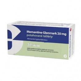 Мемантин Glenmark 20 мг (28 шт)