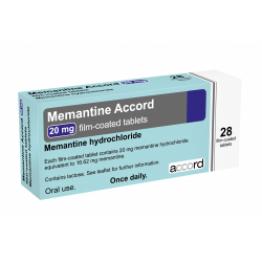 Мемантин Accord 10 мг (56 шт)