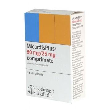 Микардис 80 мг/25 мг (28 шт)