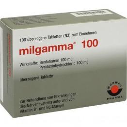 Мильгамма 100 шт