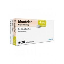 Монтелар 4 мг (28 таблеток)
