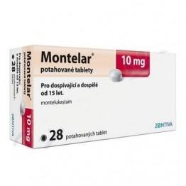 Монтелар 10 мг (28 таблеток)