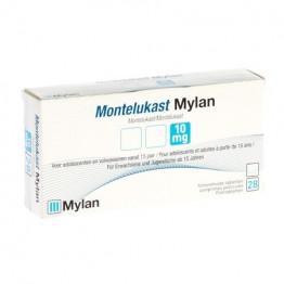 Монтелукаст Mylan 10 мг, 28 таблеток