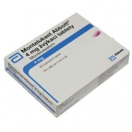 Монтелукаст Abbott 4 мг, 28 таблеток