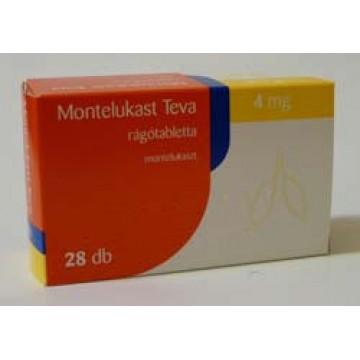 Монтелукаст Teva 4 мг, 28 таблеток