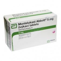 Монтелукаст Abbott 5 мг, 98 таблеток