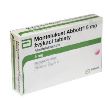 Монтелукаст Abbott 5 мг, 28 таблеток