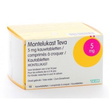 Монтелукаст Teva 5 мг, 98 таблеток