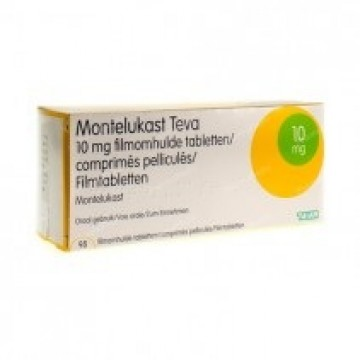 Монтелукаст Teva 10 мг, 30 таблеток