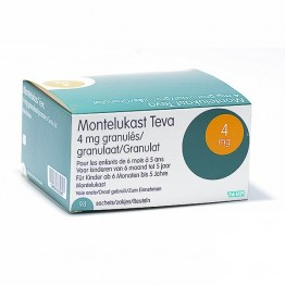 Монтелукаст Teva 4 мг, 98 таблеток