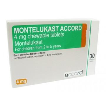 Монтелукаст Accord 10 мг, 28 таблеток