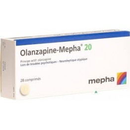 Оланзапин 20 мг (28 шт)