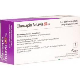 Оланзапин Актавис 20 мг (28 шт)
