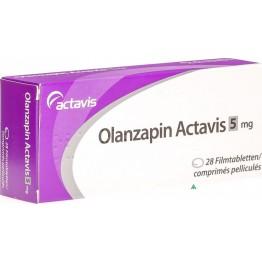 Оланзапин Актавис 5 мг (28 шт)