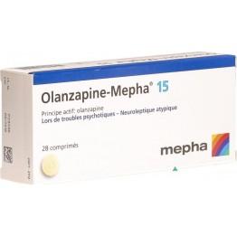 Оланзапин 15 мг (28 шт)