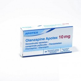 Оланзапин Апотекс 10 мг (28 шт)