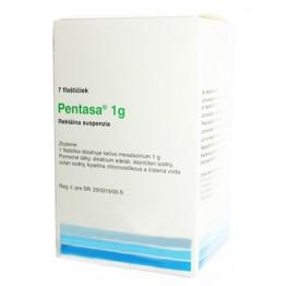 Пентаса (Pentasa) 1 г., 100 мл, 7 шт.
