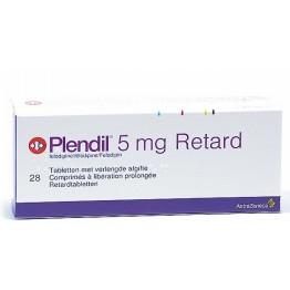 Плендил 5 мг (28 шт)