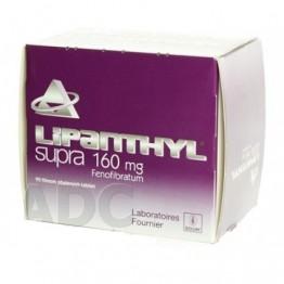 Липантил (Lipanthyl) Supra 160 таблетки 160 мг (90 шт)