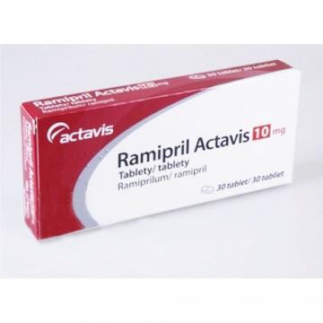 Рамиприл (Ramipril) 10 мг, 30 таблеток