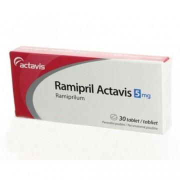 Рамиприл (Ramipril) 5 мг, 30 таблеток