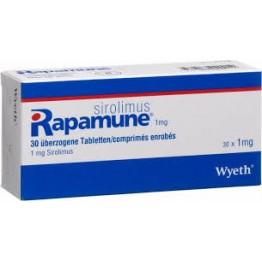Рапамун (Rapamune) 1мг, 30 таблеток